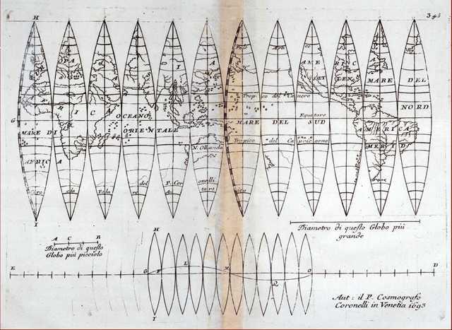 Mostra: Vincenzo Coronelli (1650 - 1718). L'immagine del mondo - The image of the World – Das bild  der Welt. Venezia, 17 febbraio - 15 aprile 2018