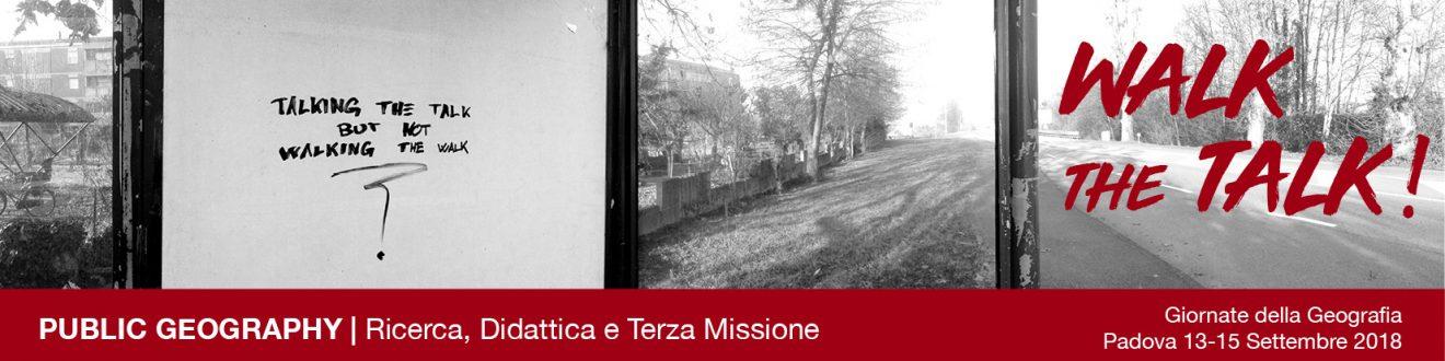 Messaggio del Presidente Andrea Riggio sulle prossime Giornate della Geografia