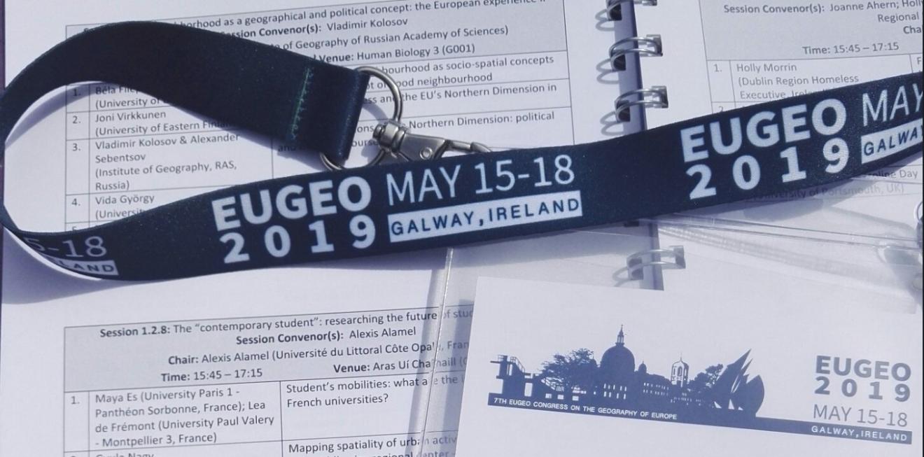 #EUGEO2019, Galway, Irlanda