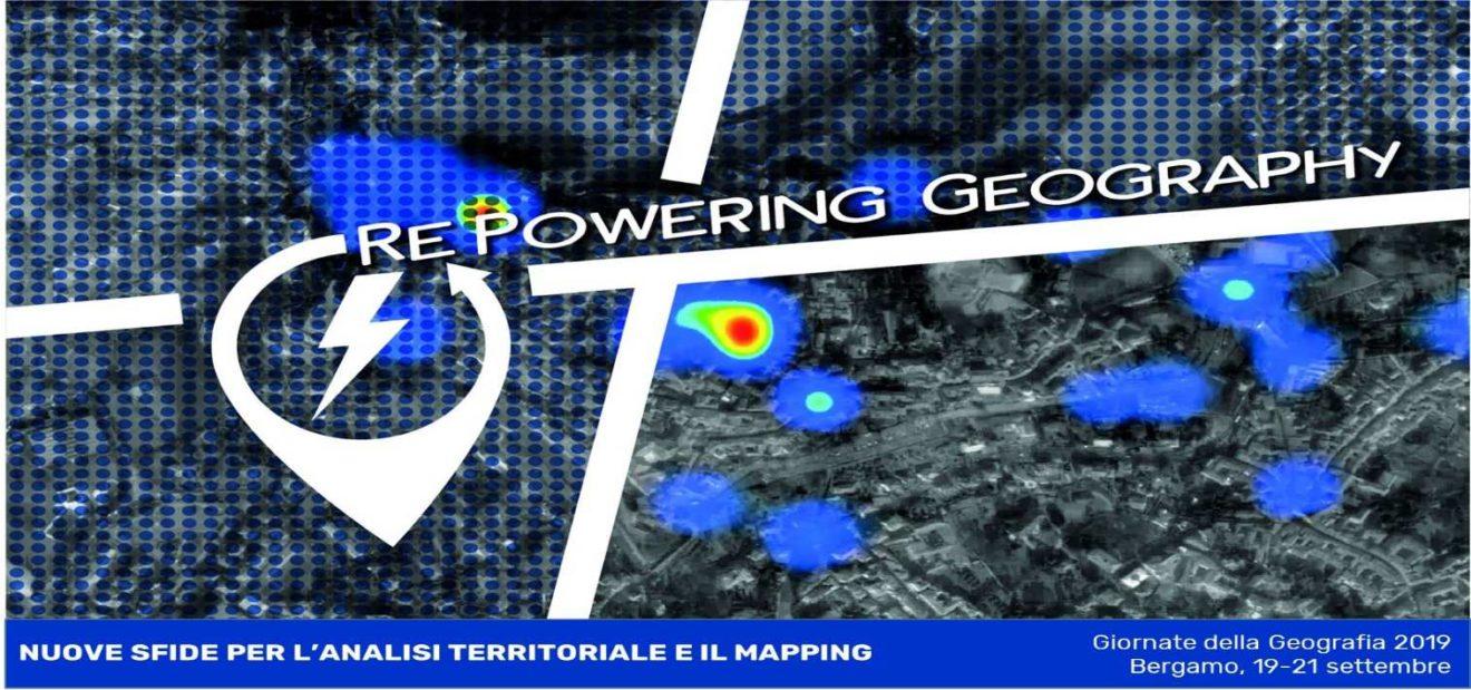 Bergamo, 19-21 settembre 2019: Giornate della Geografia A.Ge.I.: