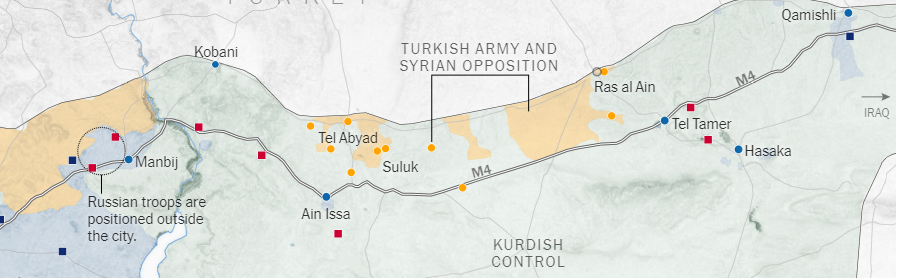 A proposito dell'offensiva turca nel Nord della Siria [Comunicato stampa]