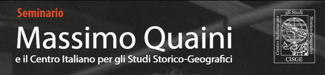 """Video del Seminario """"Massimo Quaini e il Centro Italiano per gli Studi Storico-Geografici"""" – CISGE"""