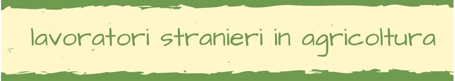 Napoli, 26/11/2019: Lavoratori stranieri in agricoltura