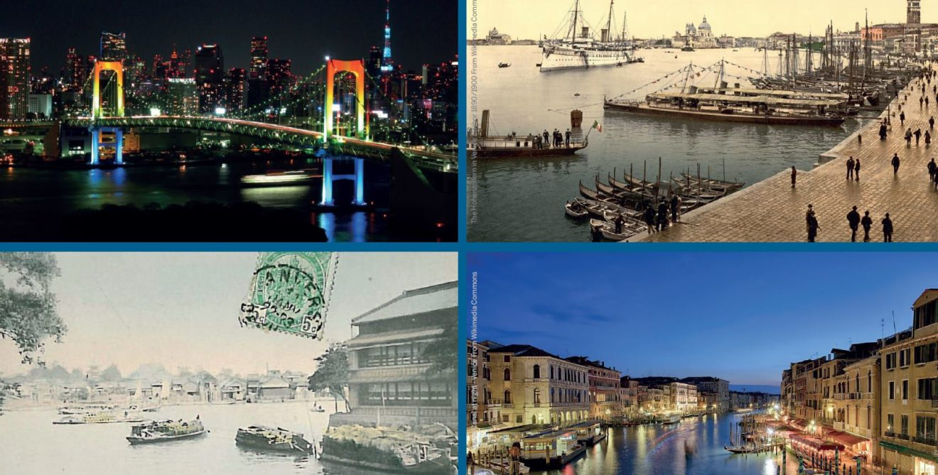 "Venezia, 13-14/1/2020: convegno ""Tokyo and Venice as cities on water. past memories and future perspectives"""