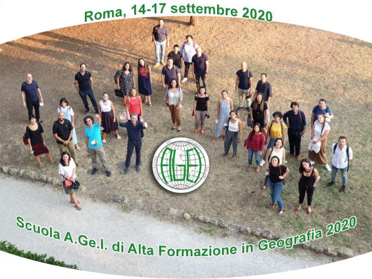 Scuola A.Ge.I. di Alta Formazione in Geografia (14-17 settembre 2020)