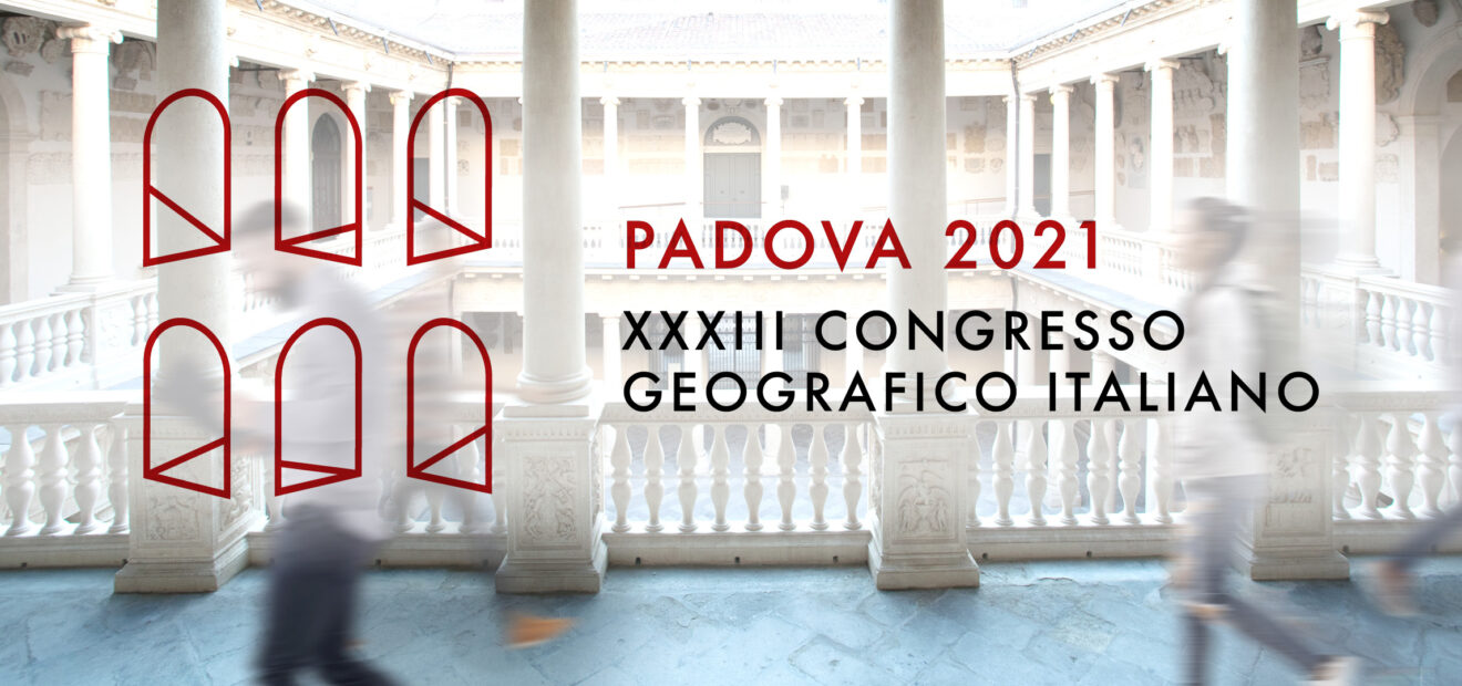 XXXIII Congresso Geografico Italiano, Padova, 8-12 settembre 2021: prima circolare informativa