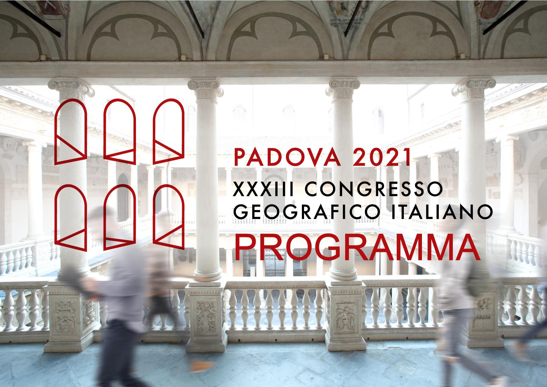 Banner Congresso Geografico Programma